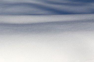 Snow carpet background