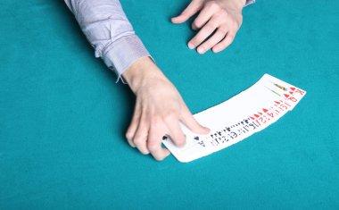 Poker Dealer Opening Cards