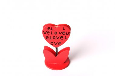 Love Message Heart Holder