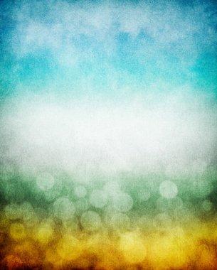 Colorful Fog and Bokeh