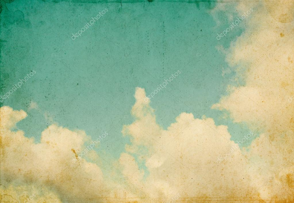 Retro Clouds and Sky