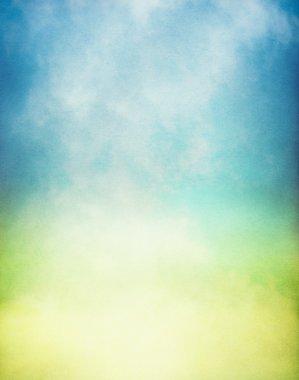 Misty Yellow Green Gradient