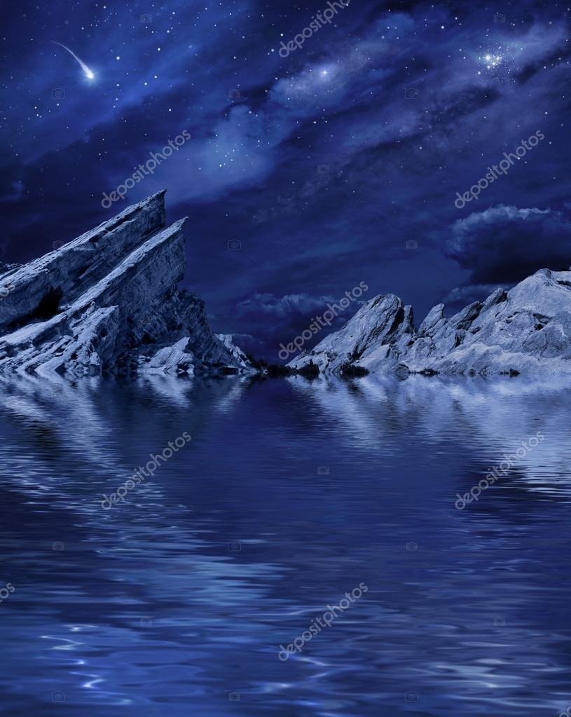 Planetscape Lake