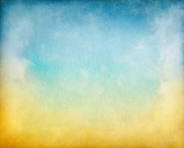 Yellow Blue Clouds
