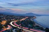 Fotografie Autobahn Fahrzeugbeleuchtung