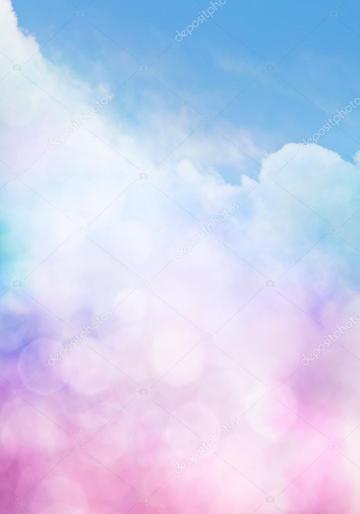 Bokeh Cloud Gradient