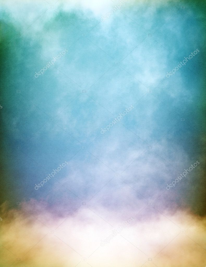 Multicolored Fog and Clouds