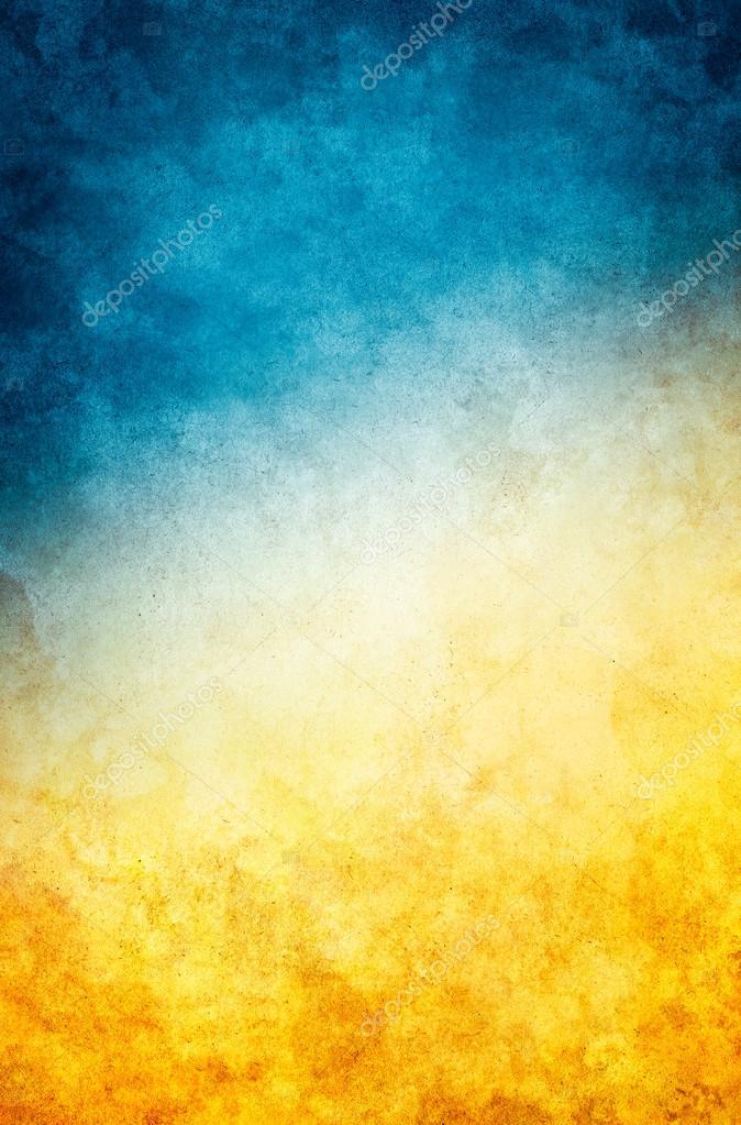 Yellow Blue Grunge