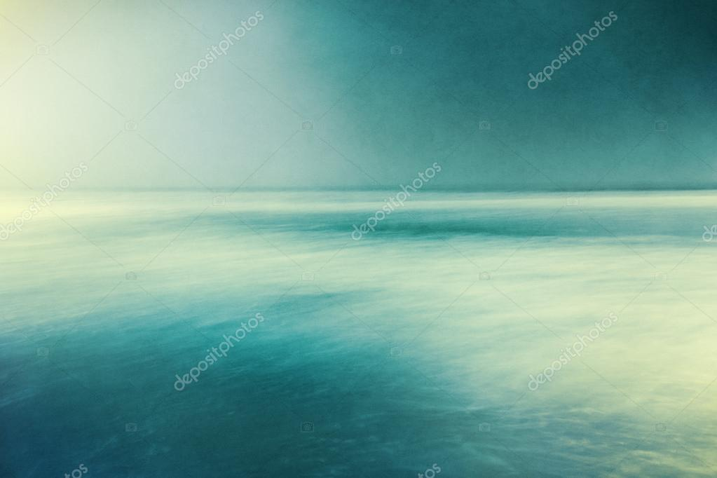 Retro Textured Seascape