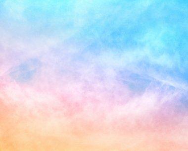 Textured Rainbow Clouds