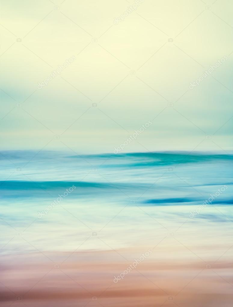 Retro Ocean Waves