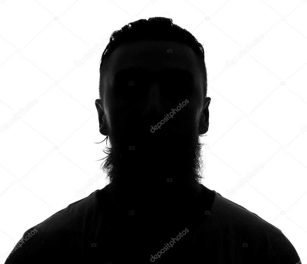Male person silhouette — Stock Photo © ooGleb #46839071