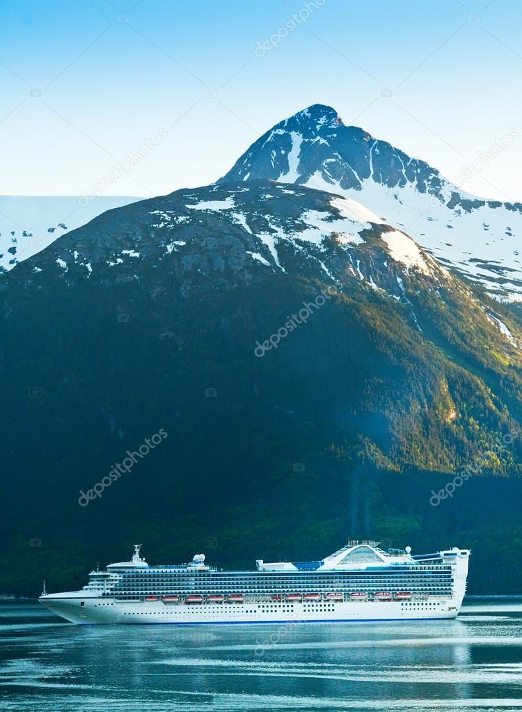 Cruise Ship making it