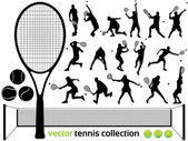 vektorové tenisové kolekce