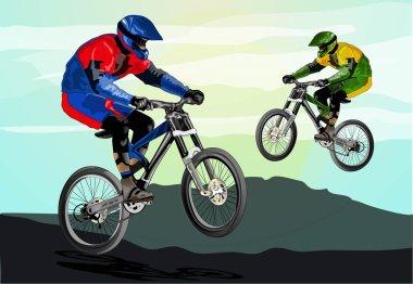 Freestyle mountain bike