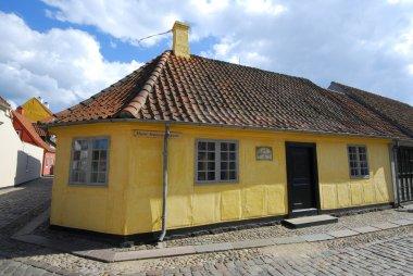 Hans Christian Andersen House in Odense, Denmark