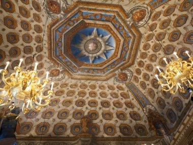 Ceiling inside Kensington Palace, London