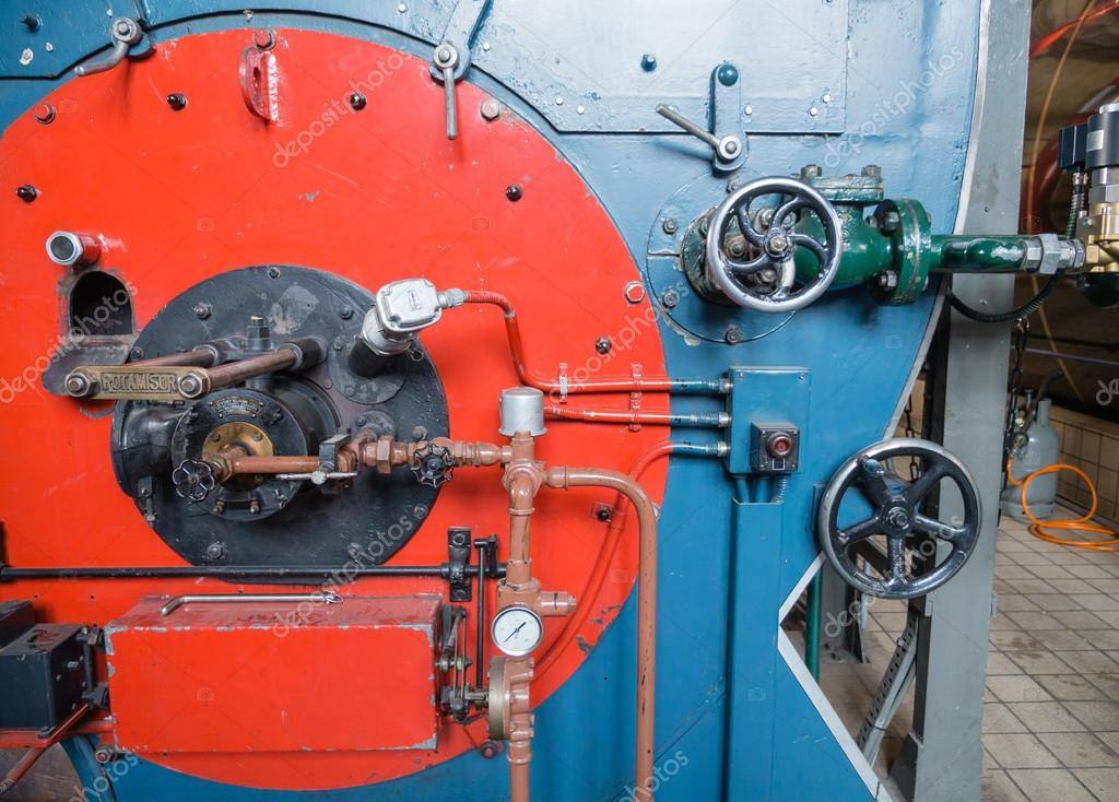 Inside a historic boiler house – Stock Editorial Photo © Dolfilms ...