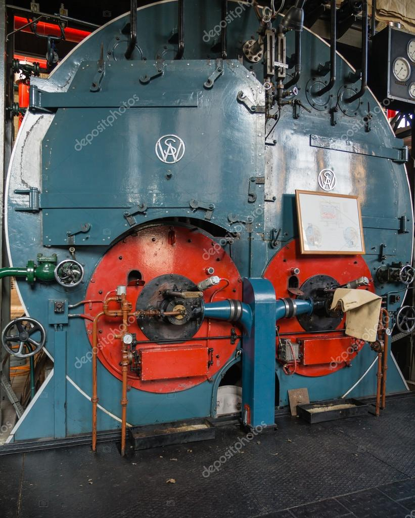 Inside a historic boiler house – Stock Editorial Photo © Dolfilms ...