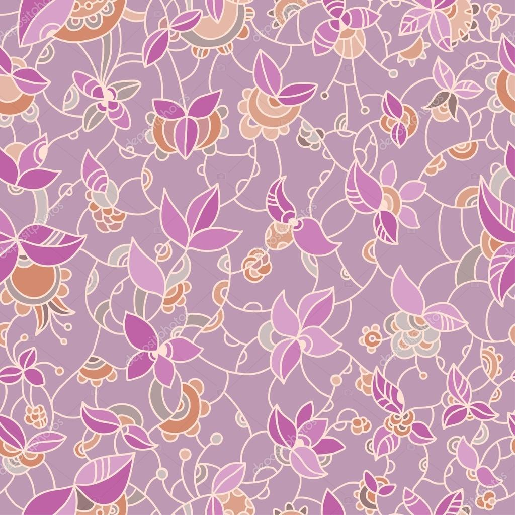 Ornate floral seamless pattern.