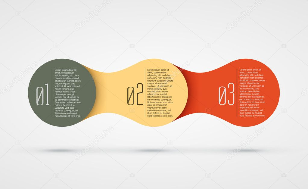 abstract vector background with infographic steps