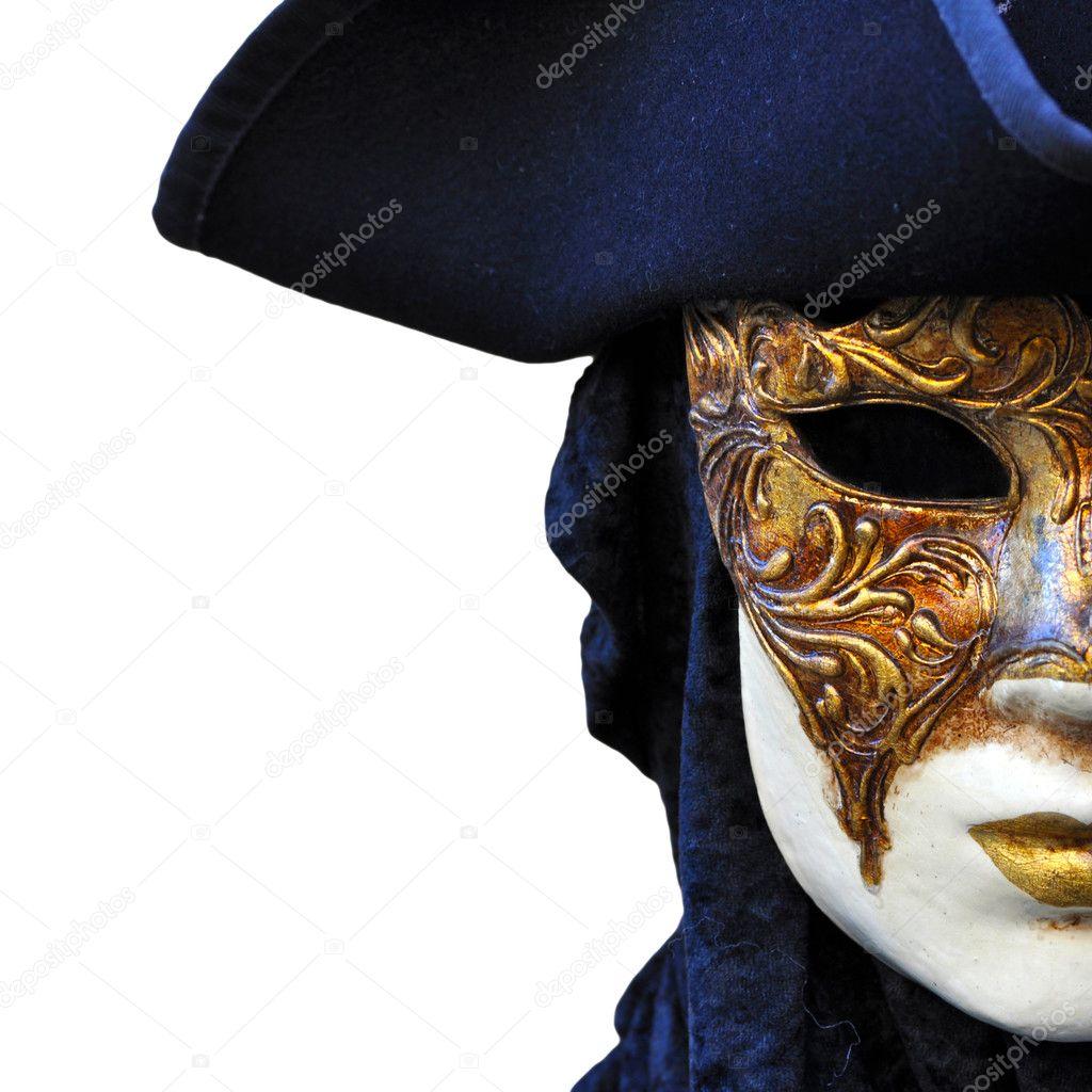Venetian Carnival mask in Venice