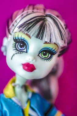 Gothic Doll close up