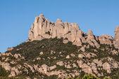 montagna di Montserrat, dove si può vedere il cavall bernat, la la