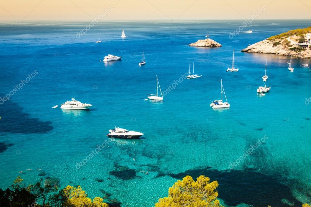 Es vedra Isola di Ibiza Cala d Hort nelle Isole Baleari