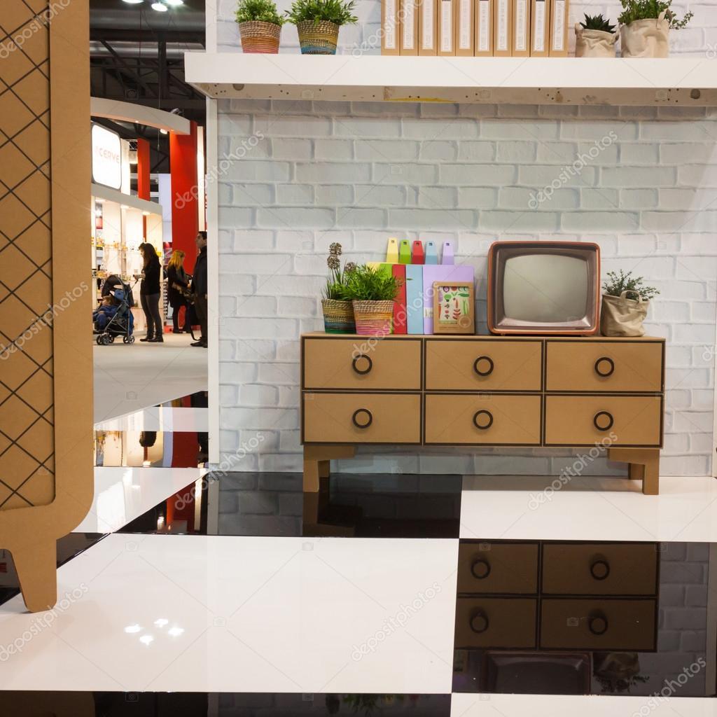 Cart N Muebles Para El Hogar En Exhibici N En Homi Casa Show  # Muebles De Caeton