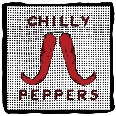 Chilly pepper label