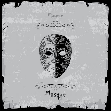 Combination of masque