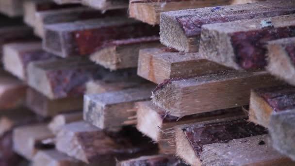 záběry ze dřeva desky lež venkovní