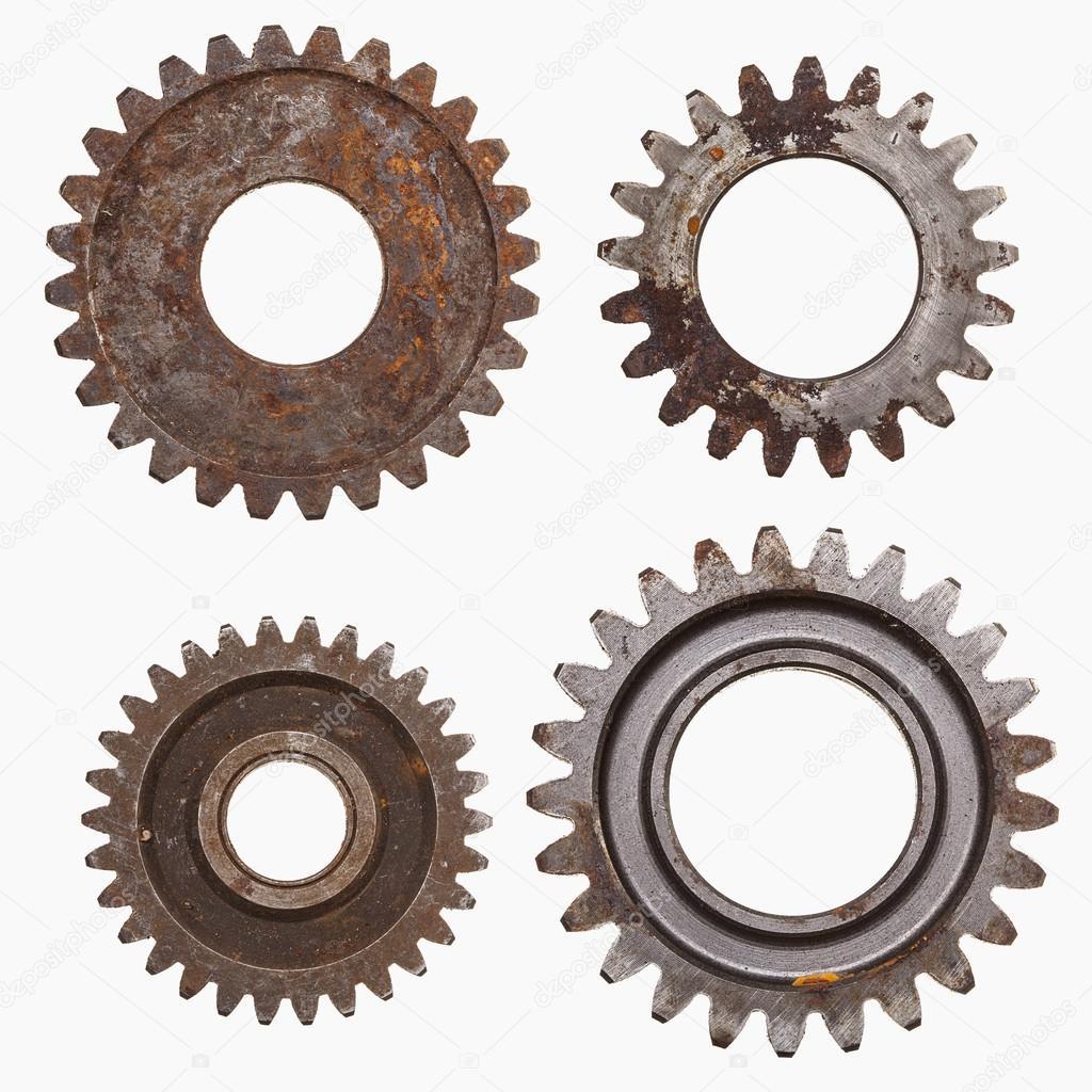 Four Rusty Gears