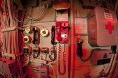 Fotografia vista interna di intrepidi portaerei USS