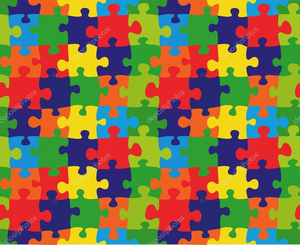 cartoon puzzle  u2014 stock vector  u00a9 el4anes  18131445