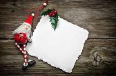 Fényképek santa karácsonyi kártya