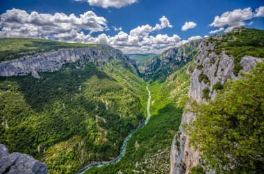 Canyon of Verdon River, France