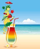 Tropical cocktai