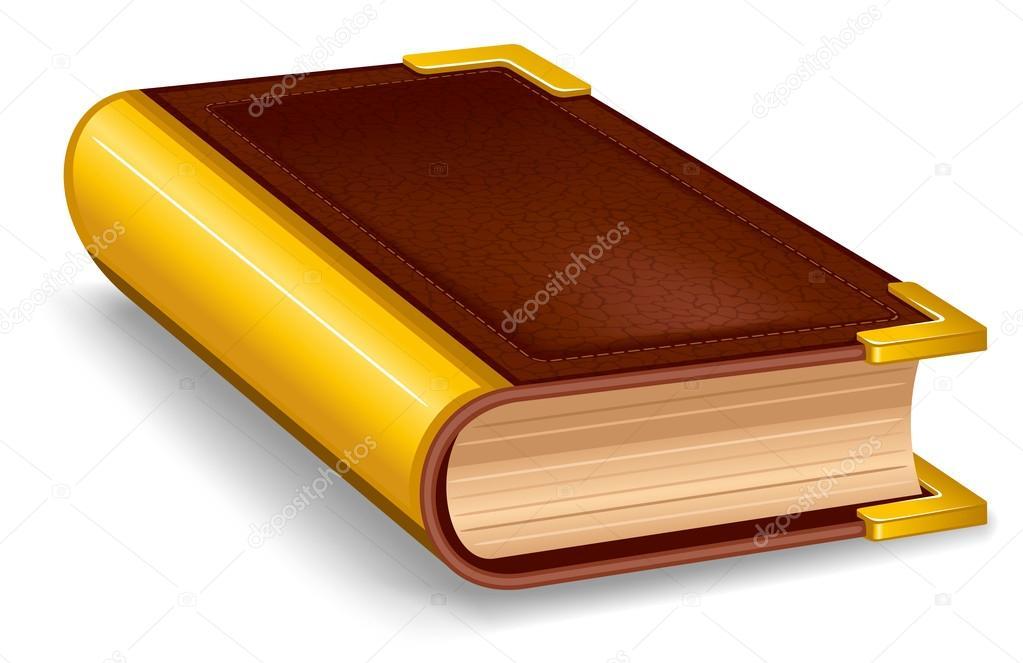 Ferme Le Livre Ancien Image Vectorielle Pazhyna C 16784787