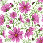 Bezešvé květinové pozadí