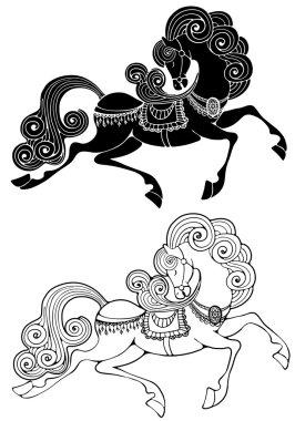 Fabulous horse