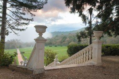 Massandra Palace garden