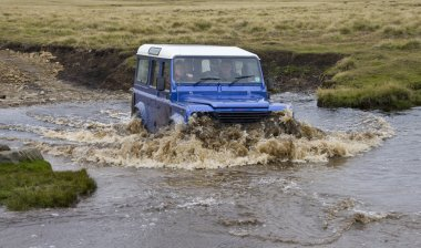 Driving in the Falkland Islands