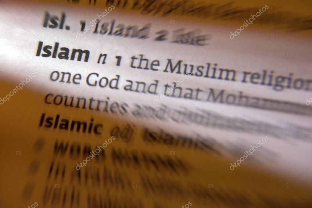 La Credenza Definizione : Islam definizione dizionario u foto stock steve allen