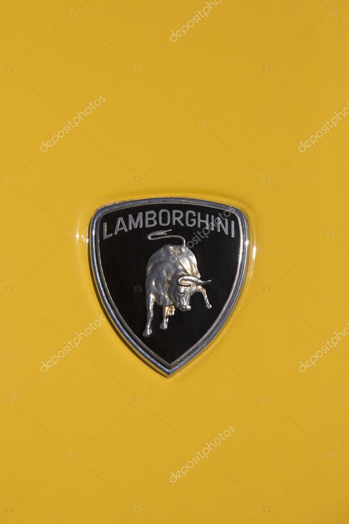 Lamborghini Badge Stock Editorial Photo C Steve Allen 18115027