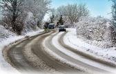 zimní jízdy - slippy podmínky