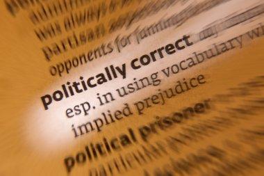Politically Correct - Dictionary Definition