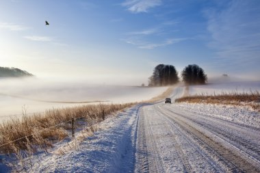 Winter Driving Conditions - England