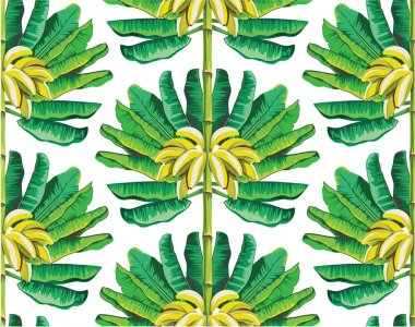 Banana tree pattern